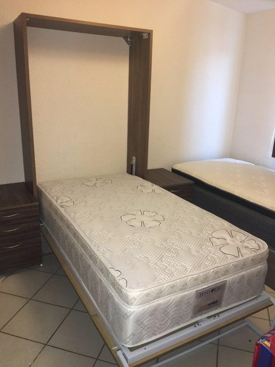Base de cama abatible a muro individual elevable - Sistema cama abatible ...