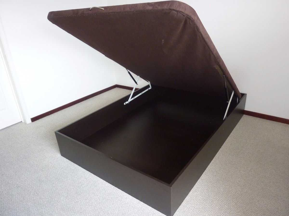 Base de cama abatible de ismar mobiliario 6 en for Base cama almacenaje