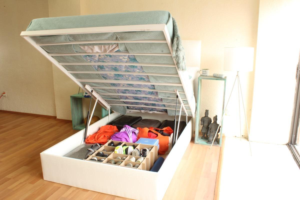 Base de cama abatible individual choco envio a cd juarez - Construir cama abatible ...