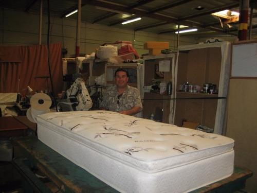 base de cama c/ colchon