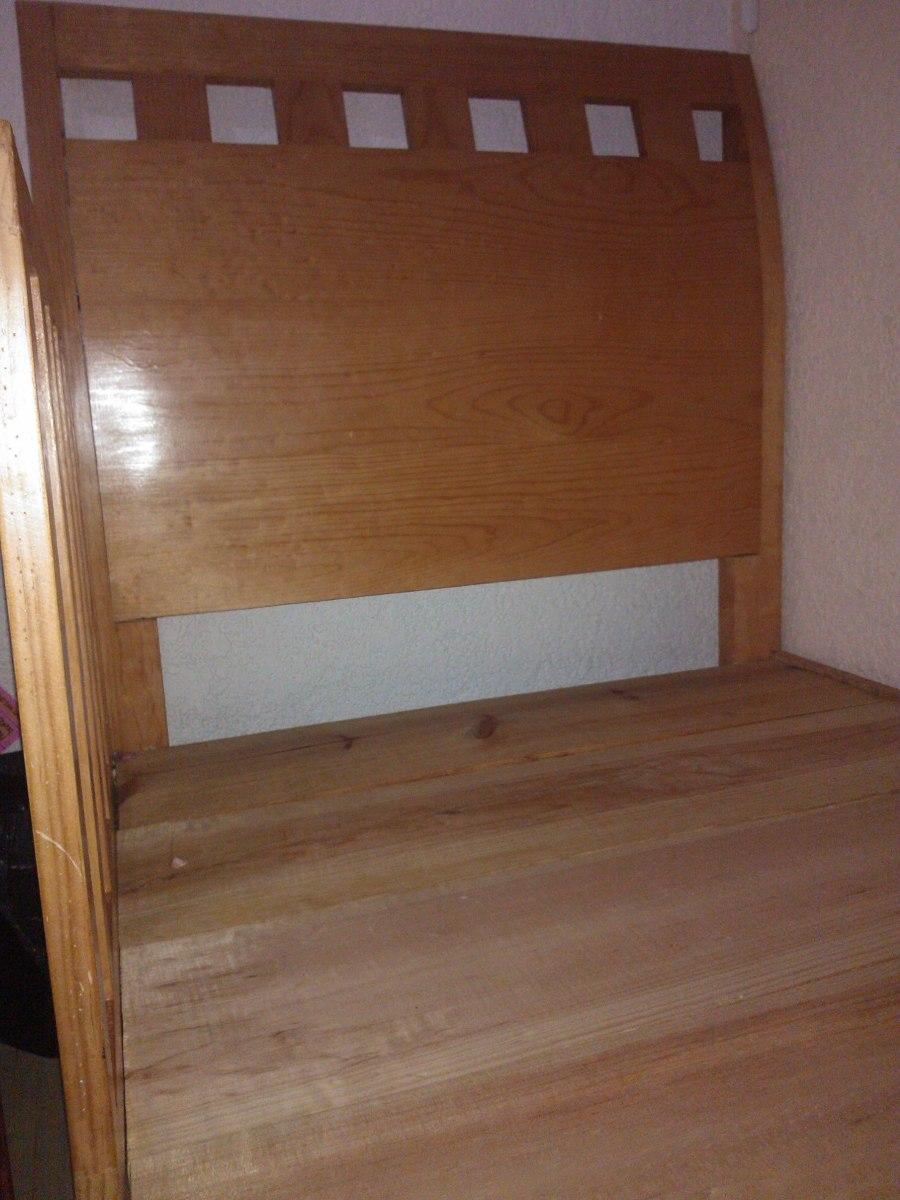 Base de cama con cabecera y cajones individual 100 madera en mercado libre - Cama individual con cajones ...