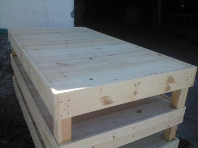 Base de cama de madera en mercado libre - Bases de cama de madera ...