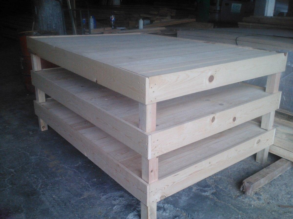 Base de cama de madera en mercado libre - Bases de camas de madera ...