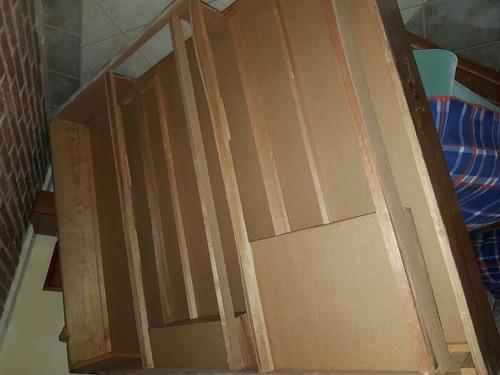 base de cama matrimonial madera