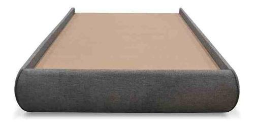 base de cama park class tela curri-curri rojo-individual