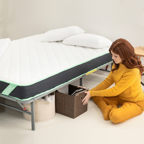 base de cama plegable nooz essential, individual