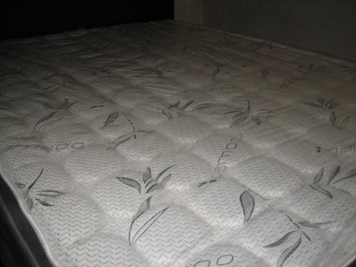 base de cama queen c/ colchon
