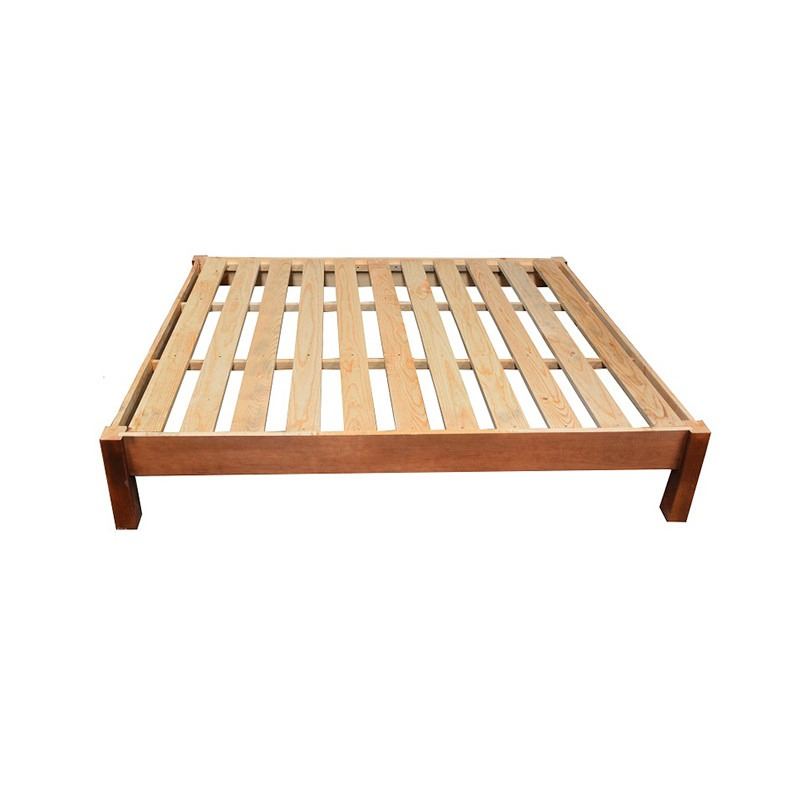 Base de cama queen size minimalista modernista recamaras for Base de cama queen size con cajones