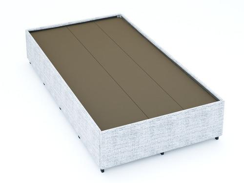 base de cama tipo box individual para recamara nubcilaq