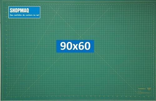 base de corte 90 + régua 60 +cortador 45 patchwork,scrapbook