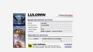 base de datos lulowin, julio 2017.