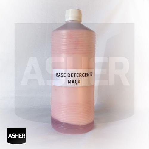 base de detergente 1l faz 10 litros - maça