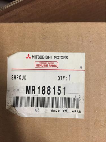 base de electroventilador de radiador mitsubishi signo