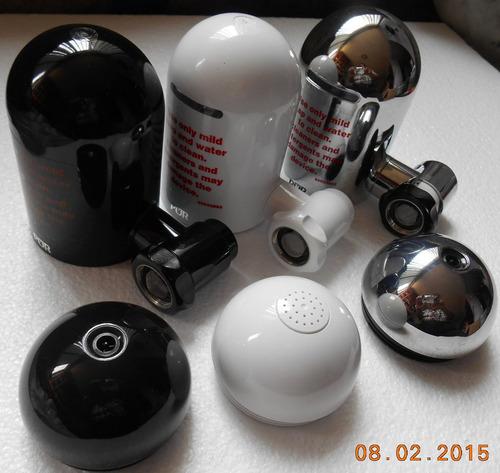 base de filtro marca pur p/agua sin filtro color blanco
