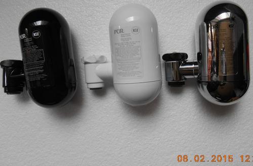 base de filtro marca pur p/agua sin filtro color negro