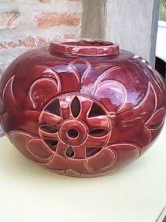 base de lampara de ceramica modelo retro