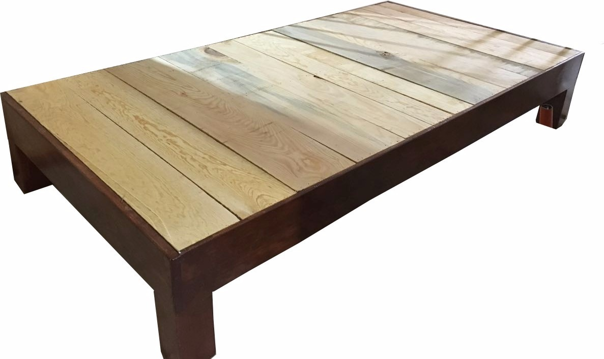 Base de madera para cama matrimonial 1 en - Bases de camas de madera ...