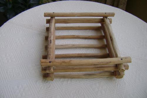 base de madera sirve para adornos y matero