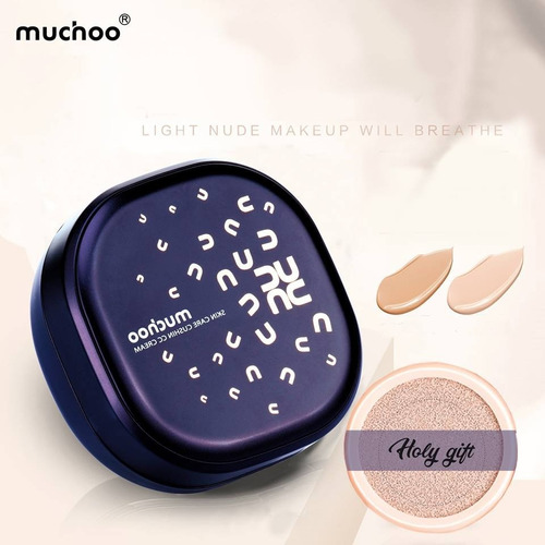 base de maquillaje cc cream cushion cosméticos
