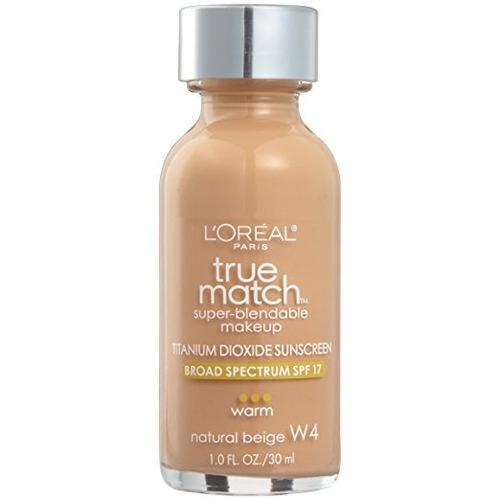 base de maquillaje loreal paris beige natural 1fl onz