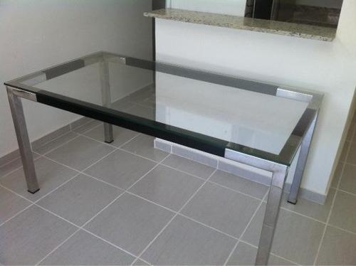 base de mesa de cozinha e jantar - inox 304 - 180 x 80