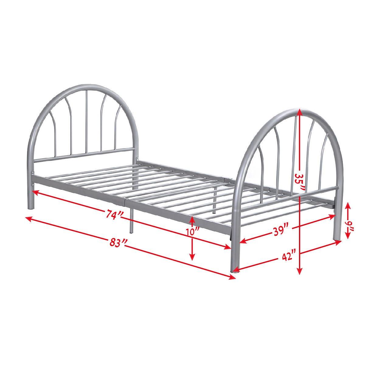 Base De Metal Para Cama 83x42x35 - $ 11.061,02 en Mercado Libre