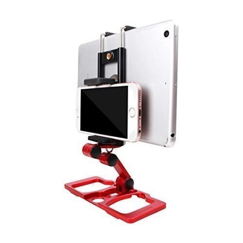 base de metal plegable para teléfono móvil, tableta, monitor