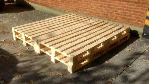 base de pallet para cama de 1,40 x 1,90 m de 2 plazas nuevo