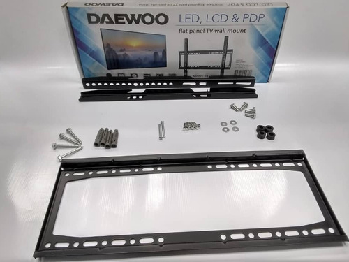 base de pared fija para televisor led lcd 3d 26 a 55 daewo