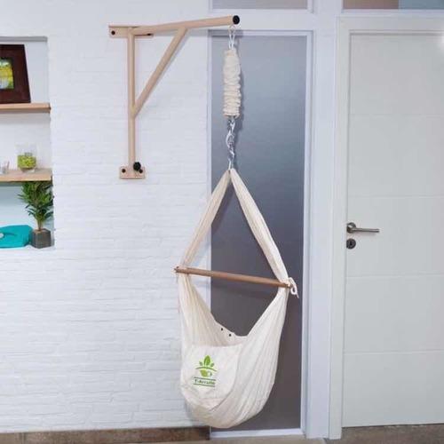 base de pared para hamaca de bebé