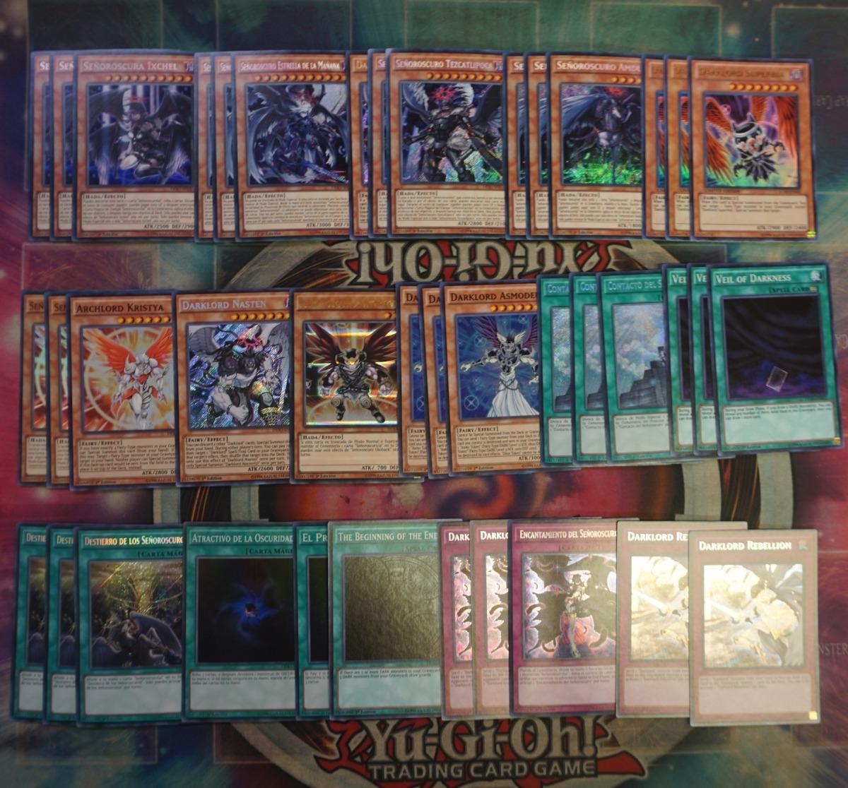 Base Deck Yugioh Darklord 4m1yu
