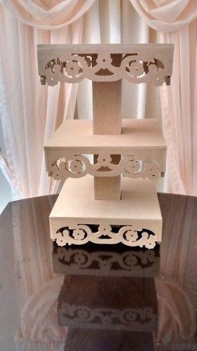 base decorativa para ponquesitos (cupcakes) candy bar