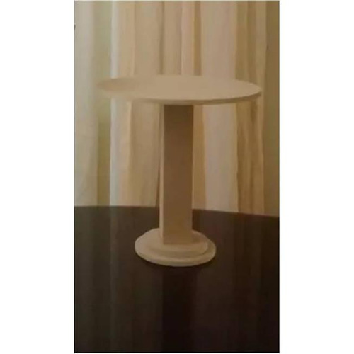 base decorativa tipo pedestal de 30cm de altura candy bar