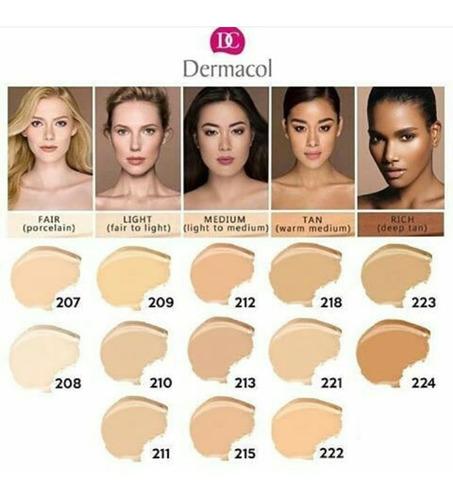 base dermacol maquillaje tienda chacao x2