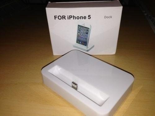 base dock iphone 5 ipod touch 5 soporte carga sincroniza