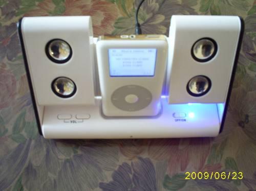 base dock para cualquier ipod conviertelo en un centro audio