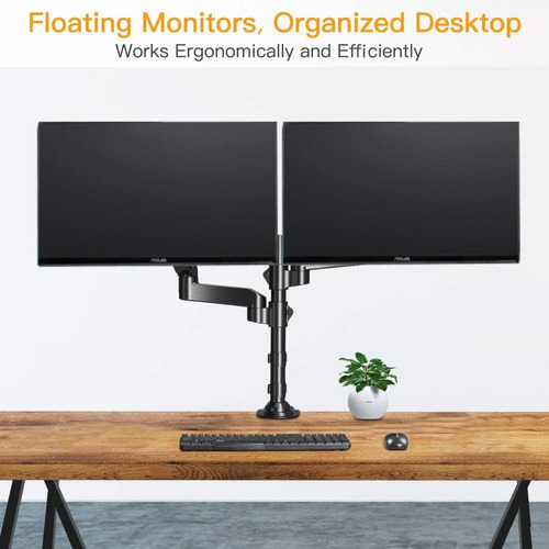 base dual para monitor ergear 17-32