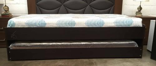 base dúplex doble ind/ind con 1 colchón cama nido litera