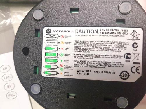 base e carregador original wpln4137br ep 450 dep 450 bi-volt