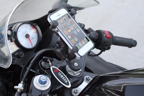base eje de manillar en motocicletas ram mounts