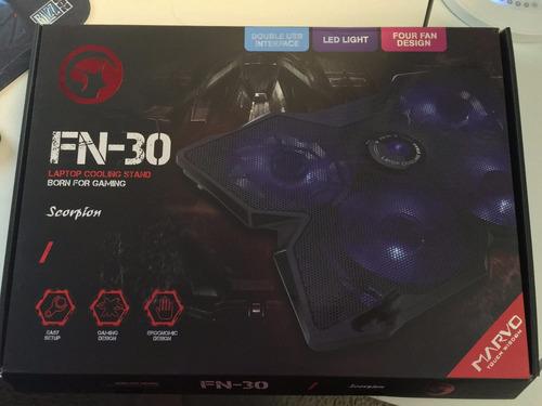 base enfriadora para laptop 15 -17 marvo gaming fn-30