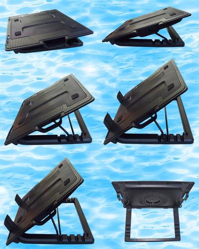 base enfriadora usa en laptop metalica cinco posiciones