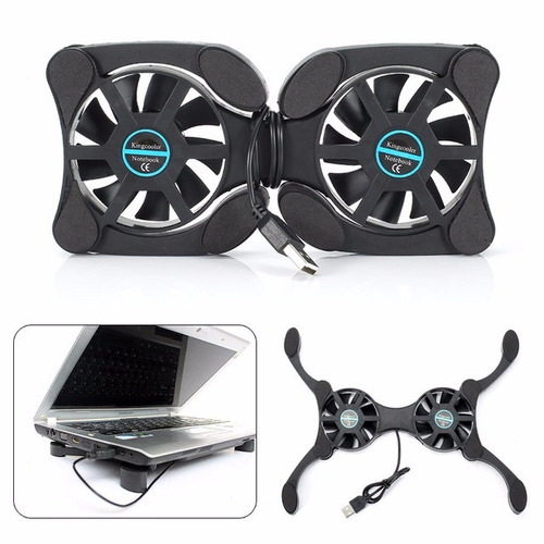 base fan cooler plegable mol 919 laptop 14¨ consola dvd