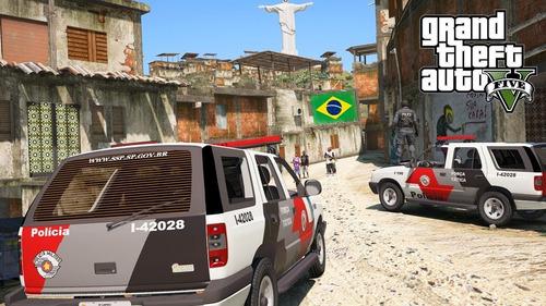 base fivem completa gta rp, brasil, rj, bope, samu, favelas