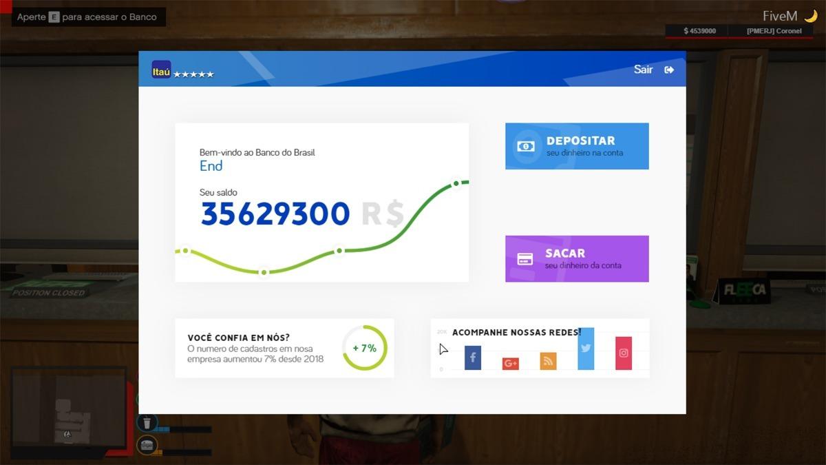 Base Fivem - Vrp Premium + Pogramador