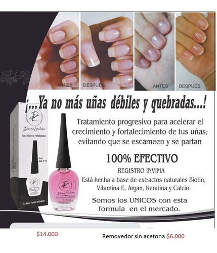 base fortalecedora de uñas