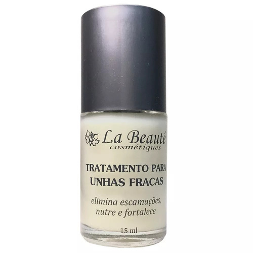 base fortalecedora la beauté , escamações unhas fracas