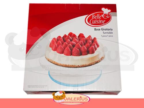 base giratorria para pastel