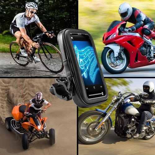 base gps garmin, smartphone, moto o bicicleta, anti-agua