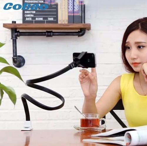 base holder universal flexible para escritorio / mesa etc
